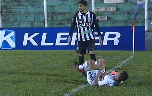 Figueirense x Arapongas - Magrão (Foto: Reprodução/SporTV)