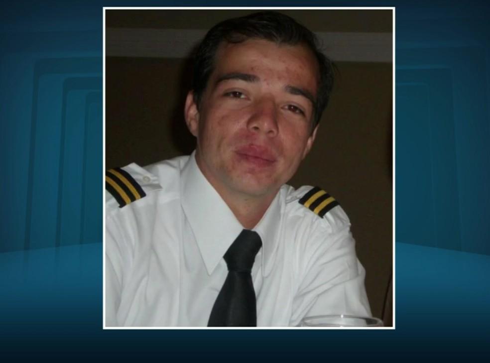 Piloto Bruno Henrique morreu no acidente em Itapira (Foto: Reprodução EPTV)
