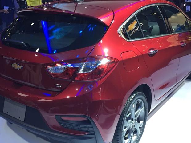 Chevrolet apresenta nova geração do Cruze Hatch no Salão de SP (Foto: André Paixão/G1)