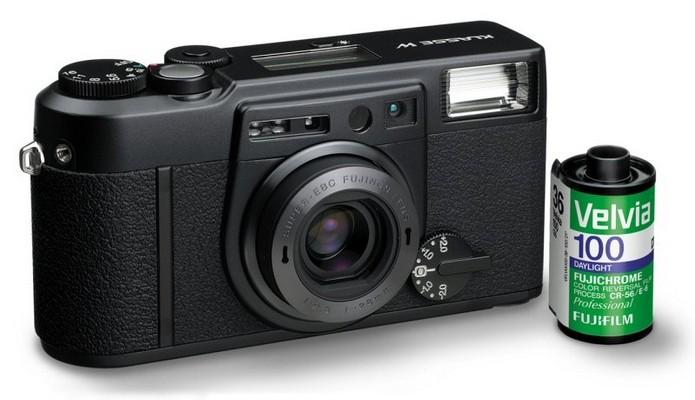 Filme de câmeras antigas queimavam ao entrar em contato com luz direta (Foto: Divulgação/Fuji)