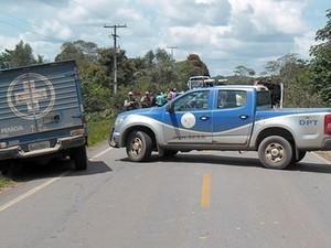 Crime ocorreu na região de Araçás (Foto: Adelmo Pereira / Aragão Notícias)