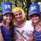 Foliões se despedem do carnaval em MG (Pedro Triginelli/G1)