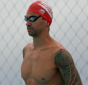 Deasfio Raia Rápida natação Roland Schoeman Anthony Ervin (Foto: Satiro Sodré / SSPress)