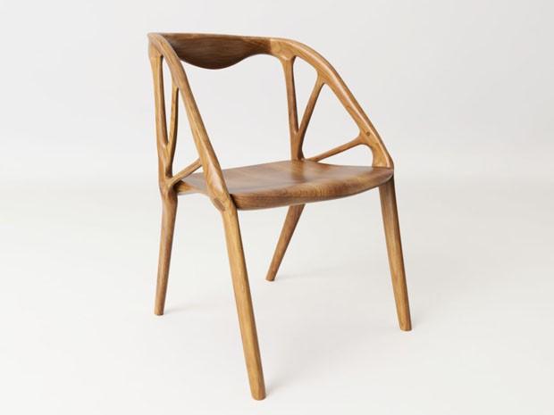 Cadeira é criada por algoritmos  (Foto: Divulgação)