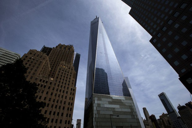 O One World Trade Center é o edifício mais alto do hemisfério ocidental (Foto: Mike Segar/Reuters)