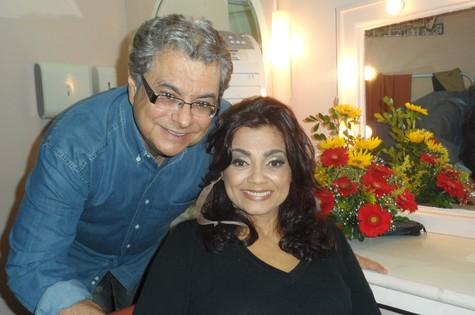 Flávio Marinho e Selma Reis (Foto: Divulgação)