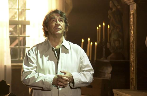 Juca de Oliveira como o cientista Albieri na novela O Clone (Foto: Divulgação Globo)