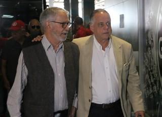 Fernando Carvalho Ibsen Pinheiro Gre-Nal 411 (Foto: Diego Guichard/GloboEsporte.com)