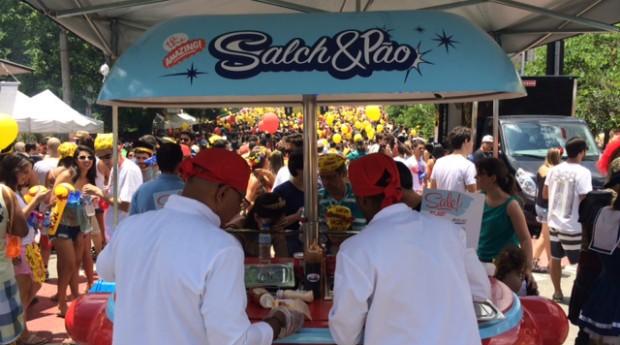Unidade móvel da Salch&Pão (Foto: Divulgação)