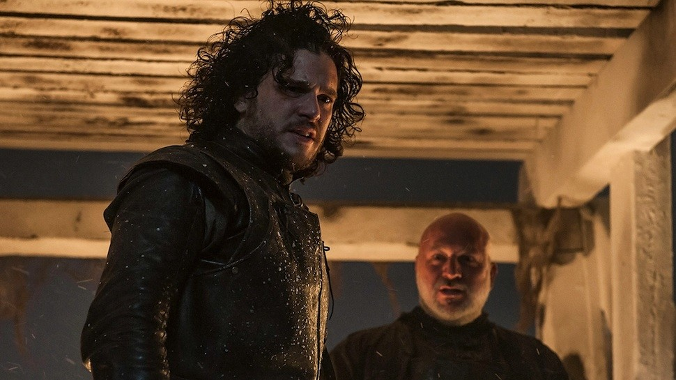 Jon comanda a defesa da Muralha (Foto: Reprodução/HBO)