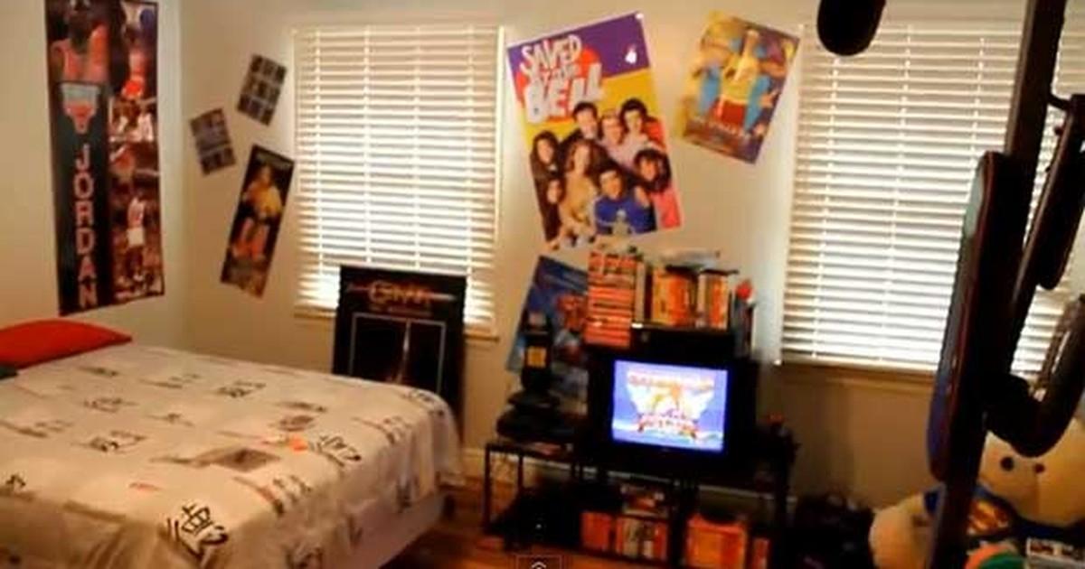 G1 em v deo americano recria quarto com refer ncias dos for Dormitorios de universidades