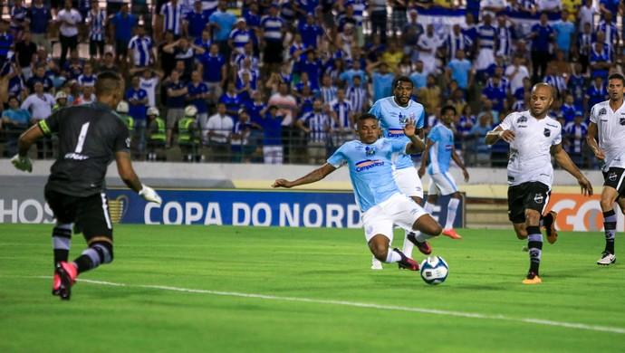 CSA x ABC, Nordestão, Estádio Rei Pelé Luís Soares gol (Foto: Ailton Cruz / Gazeta de Alagoas)