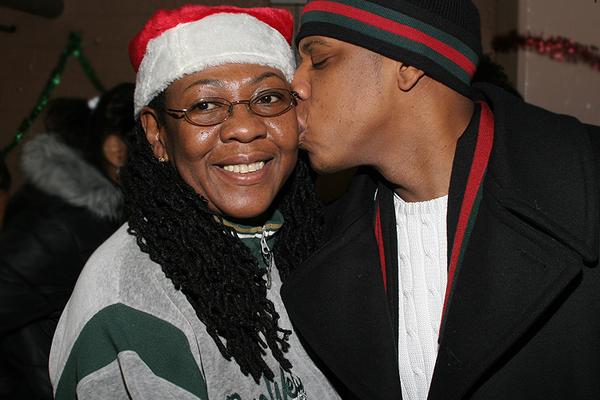 Jay-Z e Gloria Carter (Foto: Reprodução / Tumblr)