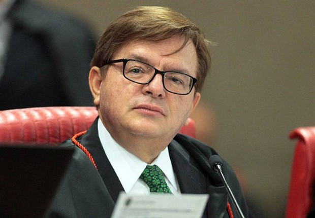 O ministro Herman Benjamin durante sessão plenária do TSE (Foto: Roberto Jayme/ASCOM/TSE)