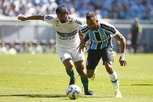 Fernandinho - Grêmio x Coritiba (Foto: Lucas Uebel/Grêmio, Divulgação)
