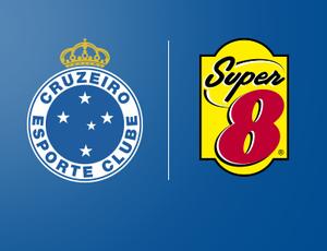 Rede de hotéis Super 8 vai patrocinar o Cruzeiro por três temporadas (Foto: Divulgação/Cruzeiro)
