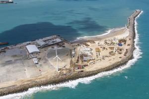 porto mucuripe obras copa fortaleza (Foto: Portal da Copa / Divulgação)