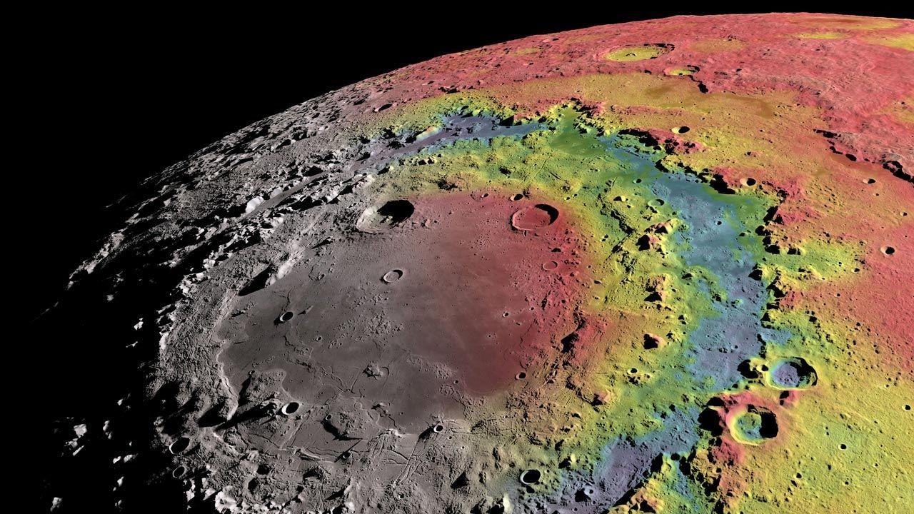 (Foto: Ernest Wright, NASA/GSFC Scientific Visualization Studio)