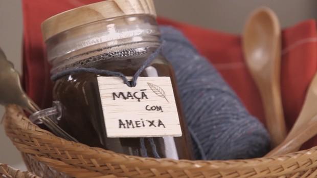 cozinha prtica vero 2017, cozinha prtica pra viagem, geleia de ma com ameixa (Foto: Divulgao/GNT)