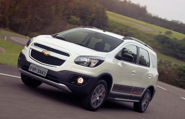 Avaliao Chevrolet Spin Activ Auto Esporte Notcias