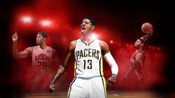 NBA 2K17 (Foto: Divulgação)