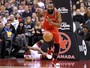 Com triplo-duplo de James Harden, Rockets batem os Raptors de virada