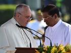 Papa pede respeito aos direitos humanos em visita ao Sri Lanka