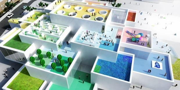 Museu do Lego ganha versão miniatura para montar (Foto: Divulgação)