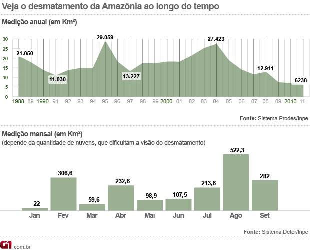 Desmatamento Amazônia setembro (Foto: s )