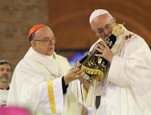 Dom Raymundo Papa Francisco (Foto  Carlos Santos) 477b01471d83a