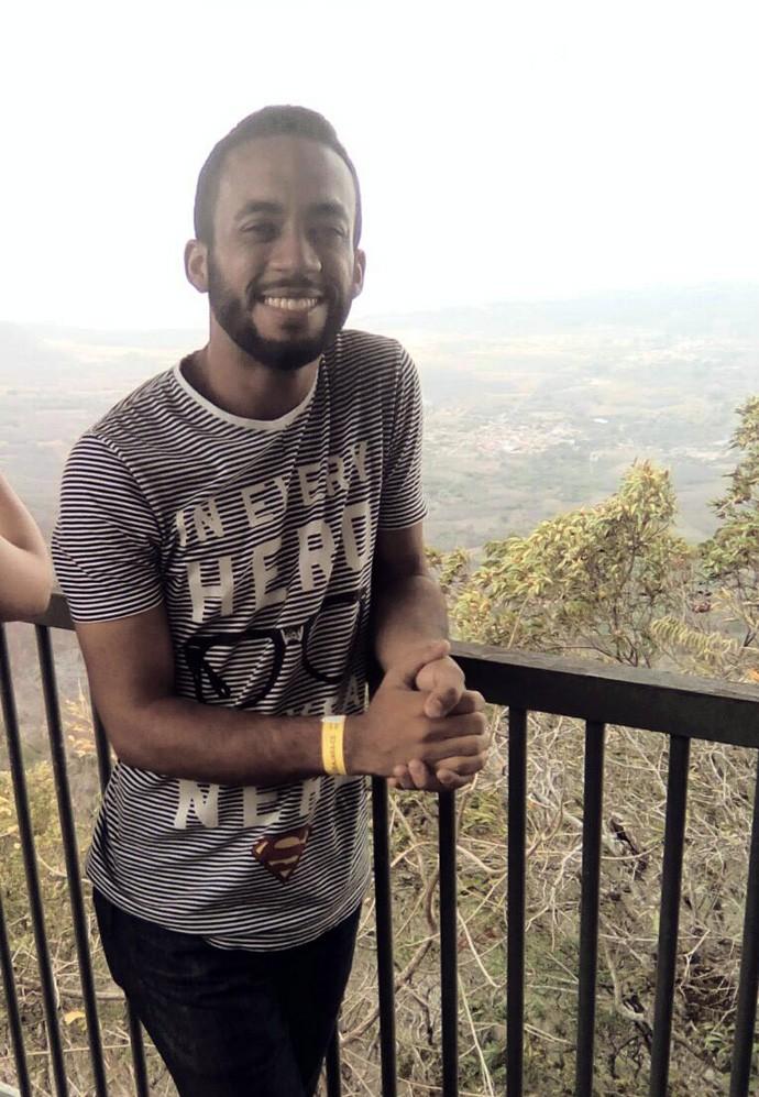 Jadson Moura em Ubajara-CE (Foto: Arquivo pessoal)