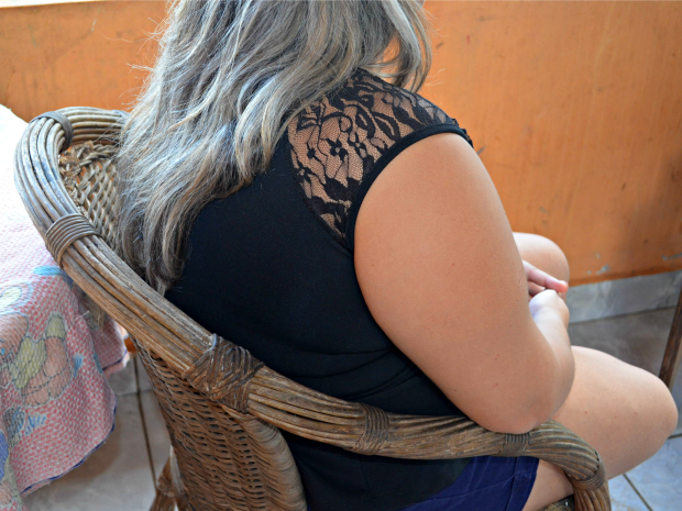 Jovem diz que só queria assustar a irmã com a tesoura e fazê-la parar de brigar (Foto: Iryá Rodrigues/G1)