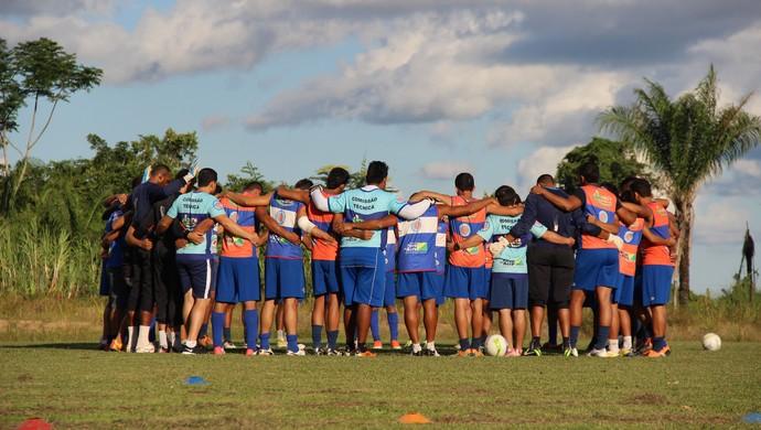 treino atlético-ac campo da ffac (Foto: João Paulo Maia)