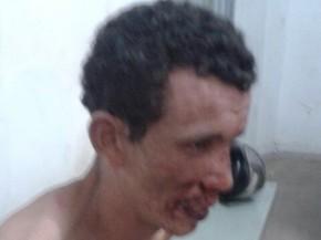 Celso Alberto Gonçalves Ferreira foi preso após estuprar enteada de apenas 7 anos (Foto: Michel Sousa/G1MA)