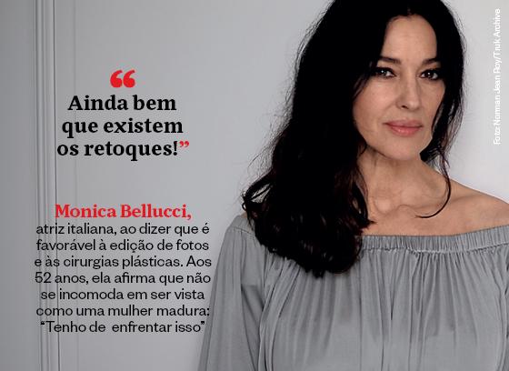 Monica Belluci (Foto: Época)