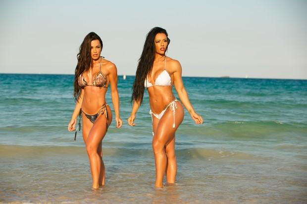 Fernanda D'avila e Sue Lasmar (Foto: Allen Grisby / MF Models Assessoria)