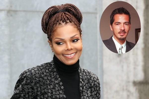 A cantora Janet Jackson e seu ex, René Elizondo (Foto: Getty Images)