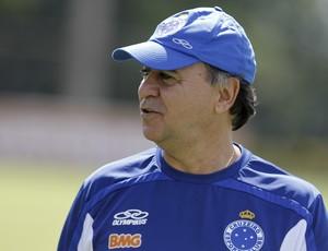 Marcelo Oliveira, Cruzeiro, treino, Toca da Raposa II (Foto: Washington Alves / Vipcomm)
