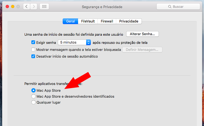 Restrinja de novo a instalação de apps (Foto: Reprodução/Paulo Alves)