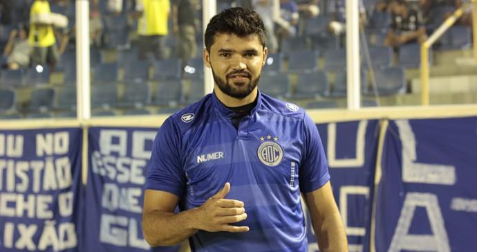 Rômulo, Confiança (Foto: Osmar Rios / GloboEsporte.com)