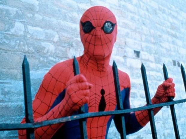 Nicholas Hammond em 'O espetacular Homem-Aranha', de 1977 (Foto: Divulgação)