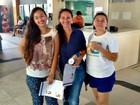 Garota de 14 anos vai fazer Enem com mãe e tia no Ceará: 'Me inspiram'