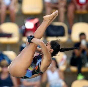 Copa do Mundo de saltos ornamentais - Ingrid Oliveira (Foto: Satiro Sodré / SSPress)