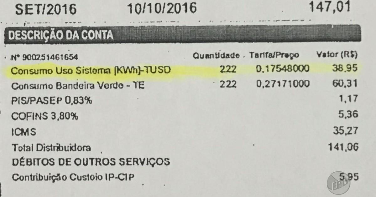 9773bb88639f6 G1 - Justiça diz que é ilegal cobrar  imposto sobre imposto  na conta de luz  - notícias em Ribeirão e Franca