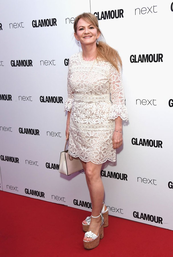 Sharon Maguire no Glamour Awards 2017 (Foto: Stuart C. Wilson/Getty Images)