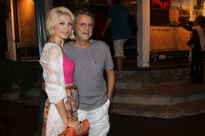 Antonia Fontelle e Marcos Paulo em Búzios (Foto: Ricardo Leal/PhotorioNews)
