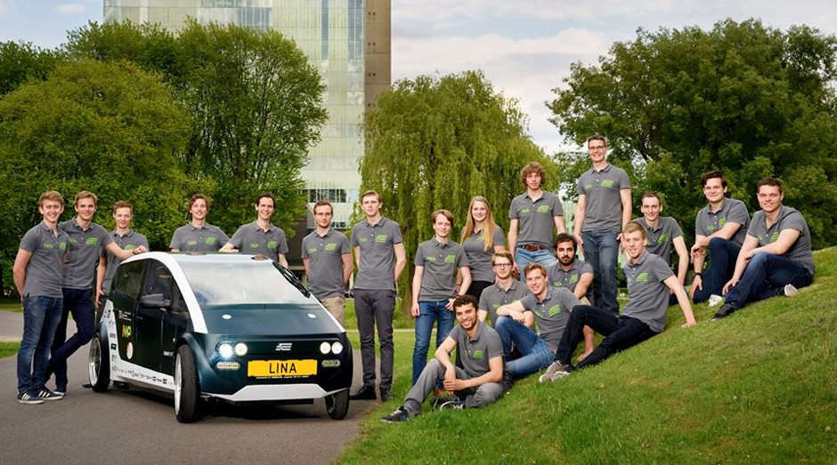 O Lina foi desenvolvido por estudantes da Universidade de Tecnologia de Eindhoven, na Holanda (Foto: Divulgação)