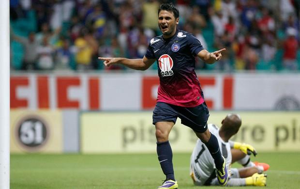 Maxi Biancucchi gol Bahia x Botafogo (Foto: Raul Spinassé / Futura Press)