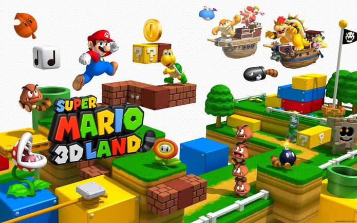 Super Mario 3D Land é o jogo do encanador mais bem sucedido do 3DS (Divulgação/Nintendo)