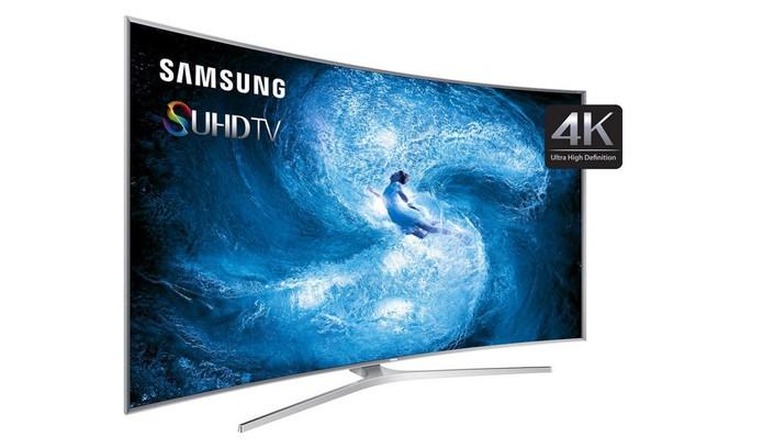 Smart TV Nano Cristal Ultra com 3D Samsung UN88JS9500 e resolução em 4K (Foto: Divulgação/Samsung)